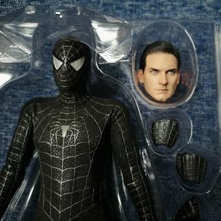 マーベル(MARVEL)のホットトイズ スパイダーマン 3 ブラック スパイダーマン 中古美品 他出品(アメコミ)