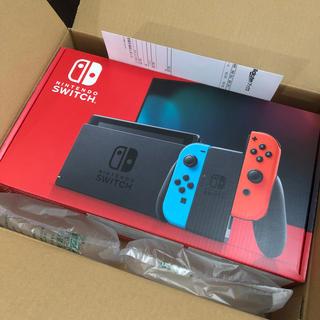 Nintendo Switch - Nintendo Switch 本体 Joy-Con ネオンブルー/ネオンレッド