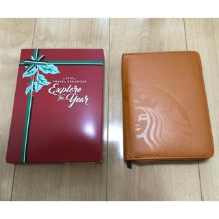 Starbucks Coffee - お値下げ‼️【新品】フィリピン スターバックス限定 トラベルオーガナイザー手帳