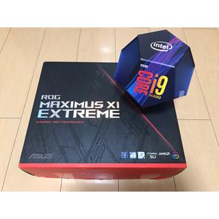 エイスース(ASUS)のROG Maximus xi extreme + core i9 9900K(PCパーツ)
