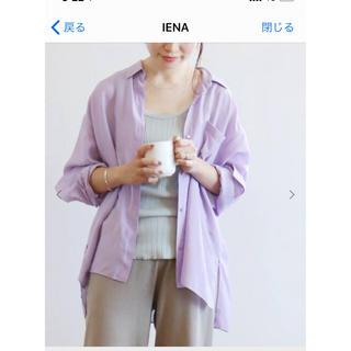 IENA - IENA シャツ