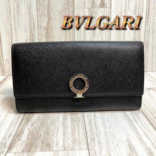 ブルガリ(BVLGARI)のブルガリ BVLGARI 二つ折り長財布 ロゴクリップ 30414 ブラック(長財布)