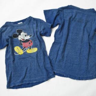 DENIM DUNGAREE - 未着用 デニム&ダンガリー  ミッキー コラボ Tシャツ 170 お揃いコーデ