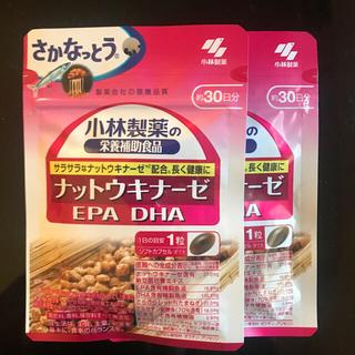 小林製薬 - 小林製薬 ナットウキナーゼ DHA EPA 30日分×2袋