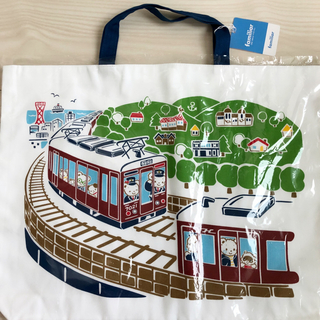 familiar - ファミリア 阪急電車 神戸線 伊丹線 100周年 レッスンバッグ 新品 阪急
