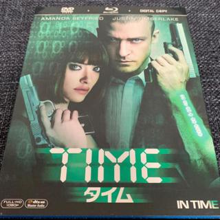 TIME  タイム 2枚組 ブルーレイ&DVD&デジタルコピー 初回生産限定(外国映画)