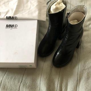 エムエムシックス(MM6)のメゾンマルジェラ 25センチ ブーツ(ブーツ)