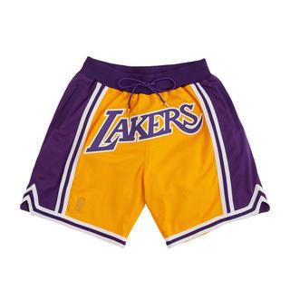 ミッチェルアンドネス(MITCHELL & NESS)のmitchell&ness Just Don shorts lakers M(ショートパンツ)