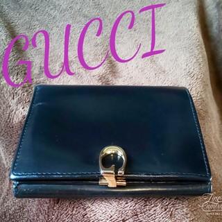 グッチ(Gucci)の正規品GUCCIグッチ二つ折り財布(折り財布)