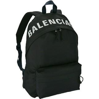 バレンシアガ(Balenciaga)のBALENCIAGA バレンシアガ ウィール ロゴ入り バックパック(バッグパック/リュック)