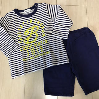 BeBe - Bebe ベベ 80 Tシャツ パンツ セット 未使用