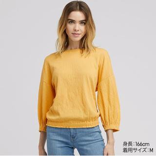 ユニクロ(UNIQLO)のユニクロ ヨウリュウギャザーT(Tシャツ(長袖/七分))