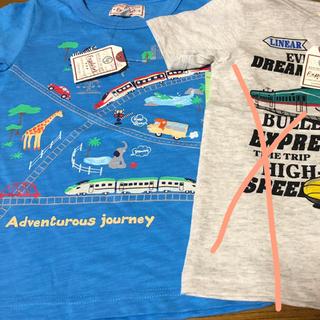 マザウェイズ(motherways)のお値下げ‼️  新品 マザウェイズ  Tシャツ 104 2枚セット(Tシャツ/カットソー)