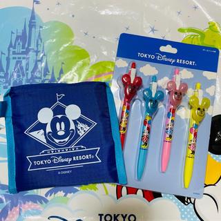 Disney - ディズニー 新作ボールペン&ショッピングバッグ