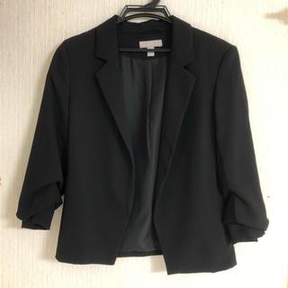 エイチアンドエム(H&M)のH&M ブラックジャケット(テーラードジャケット)