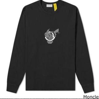 モンクレール(MONCLER)のモンクレール × 藤原ヒロシ フラグメント ピカチュウ ロングTシャツ(Tシャツ/カットソー(七分/長袖))