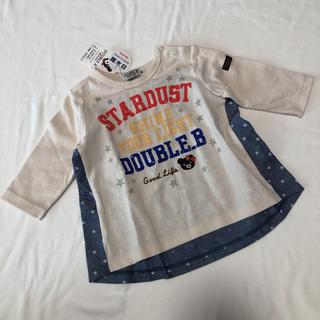 DOUBLE.B - ミキハウス ダブルビー 五分袖 Tシャツ 80 新品