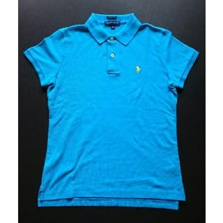 ラルフローレン(Ralph Lauren)のRALPH LAUREN ポロシャツ 水色(ポロシャツ)