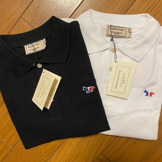メゾンキツネ(MAISON KITSUNE')のメゾンキツネ  ポロシャツ  トリコロール 2枚セット(ポロシャツ)