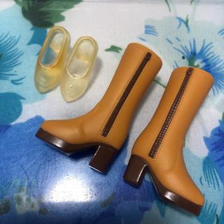 Takara Tomy - リカちゃん シューズセット① 靴 ジェニー ブライス ブーツ ワンピース 洋服