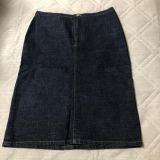 ラルフローレン(Ralph Lauren)のラルフローレン デニムタイトスカート(ひざ丈スカート)