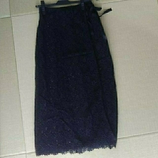 ルカ(LUCA)の新品タグつき☆ロングスカート (巻きスカート)(ロングスカート)