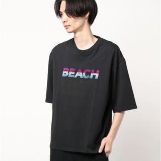 Jieda - dairiku beach Tシャツ