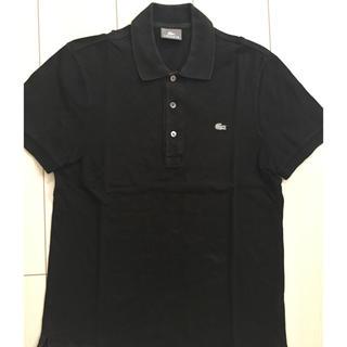 LACOSTE - 引越しにつき7/17まで【ラコステ】メンズ黒ポロシャツ