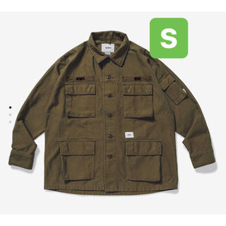 W)taps - WTAPS 20SS JUNGLE LS 01 SHIRT. COTTON.