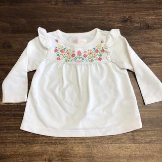 ニシマツヤ(西松屋)の西松屋 ベビー 長袖Tシャツ 80cm(Tシャツ)
