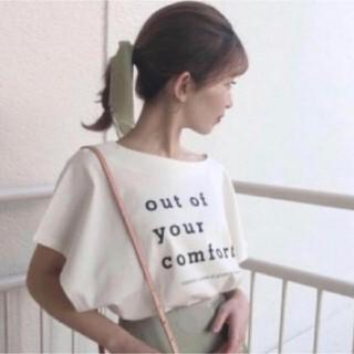 snidel - 新品タグ付 モードロゴTシャツ ホワイト SNIDEL