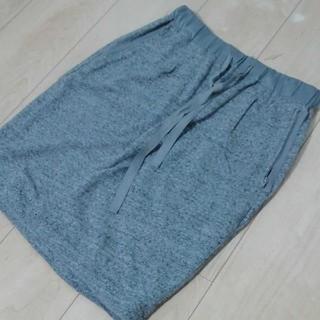 PLST - 良品レディースM☆PlST 柔らかストレッチコットンスカート