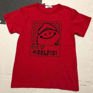 ベベ(BeBe)のSLAP SLIP 130cm eくんプリントTシャツ(Tシャツ/カットソー)