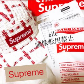 シュプリーム(Supreme)のsupreme   Ribbon Boucl Camp Cap シュプリーム (キャップ)