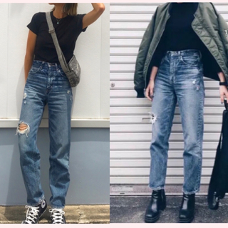 moussy - マウジー★25★GBL MV JW TAPERED