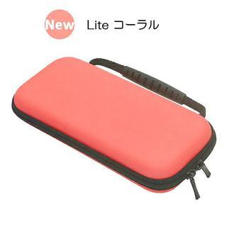 Nintendo Switch Lite セミハードケース(コーラル)(その他)