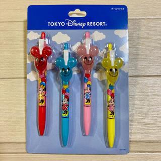 Disney - ディズニーリゾート レトロ ボールペン4本セット バルーン