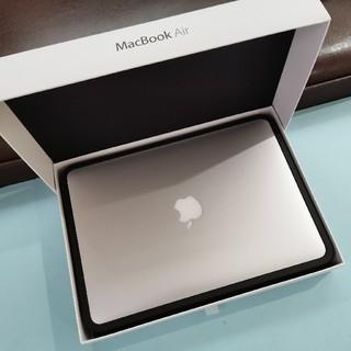 アップル(Apple)の超美品 macbook AIR 13inch-CTOモデル i7  SSD256(ノートPC)