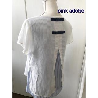 ピンクアドべ(PINK ADOBE)のpink  adobe ブラウス(シャツ/ブラウス(半袖/袖なし))