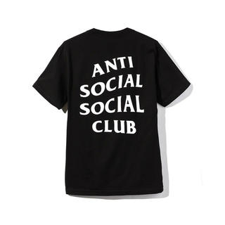 アンチ(ANTI)の新品未使用 ANTISOCIALCLUB 黒L(Tシャツ/カットソー(半袖/袖なし))