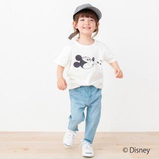 プティマイン(petit main)のプティマイン:ミッキーTEE(Tシャツ/カットソー)