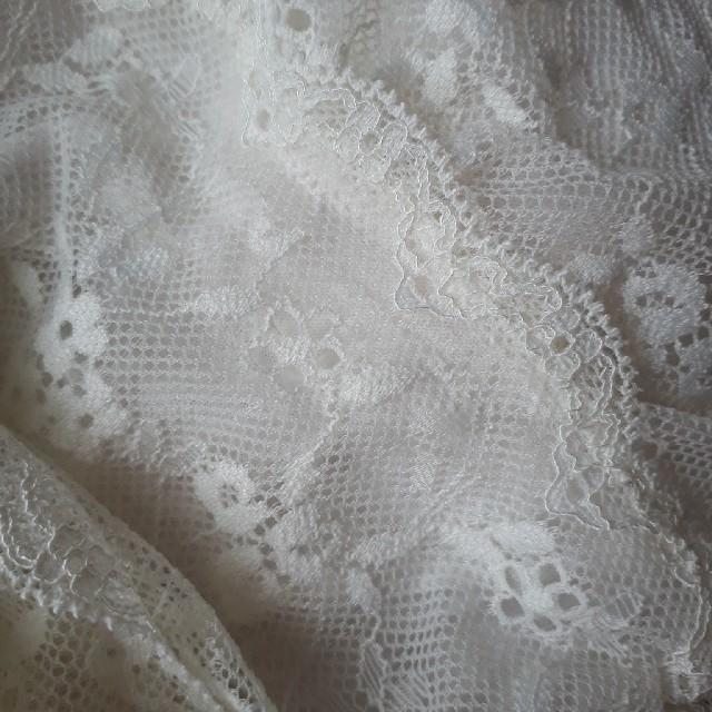 tutuanna(チュチュアンナ)の白のみ チュチュアンナ レース ブラトップ 下着 キャミソール  白 レディースのトップス(ベアトップ/チューブトップ)の商品写真