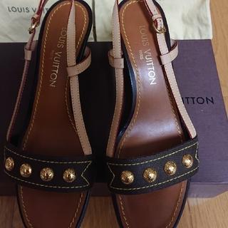 ルイヴィトン(LOUIS VUITTON)のルイヴィトン靴(サンダル)
