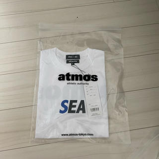 SEA - atmos WIND AND SEA シャツ ホワイト アトモス ウィンダンシー