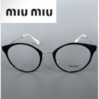 ミュウミュウ(miumiu)の◆MIU MIU◆MU51PV◆  やや大きめのボストンシェイプ、スクエアタイプ(サングラス/メガネ)