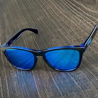 Oakley - 【限定カラー】★オークリー フロッグスキン Eclipse ブルー★サングラス