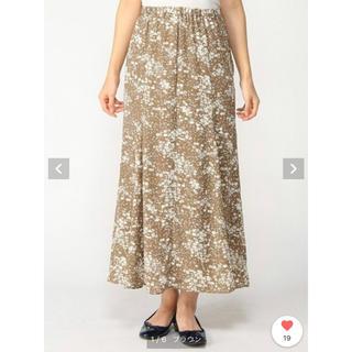 ローリーズファーム(LOWRYS FARM)のローリーズファーム ロング スカート 花柄(ロングスカート)