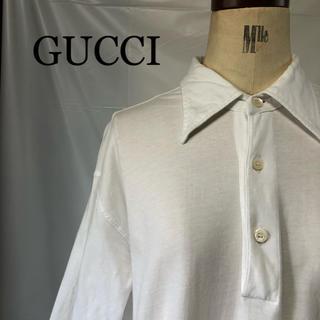 グッチ(Gucci)のGUCCI  グッチ  ポロシャツ  Tシャツ生地(ポロシャツ)