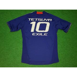 アディダス(adidas)の★ 日本代表× EXILE #10 TETSUYA ユニフォーム /M 正規品(ミュージシャン)