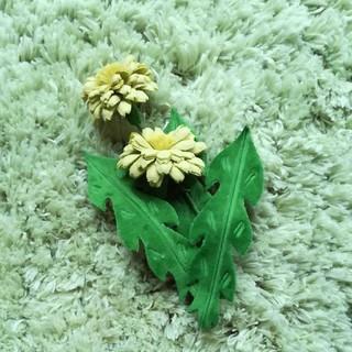 ミナペルホネン(mina perhonen)のミナペルホネン tanpopo コサージュ(ブローチ/コサージュ)